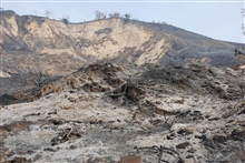 La Conchita, California - The aftermath of the Thomas fire