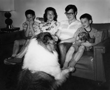 Ronald, Mom, Michael & Steven, Redondo Beach, California