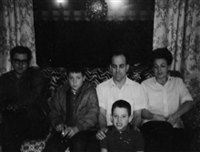 Steven, Michael, Ronald, Dad & Mom, Fresno, California