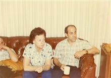 Mom & Dad, Christmas, Fresno, California