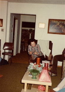 Mom, Christmas, Fresno, California