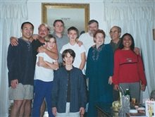 Beth, Drewry, Matt, Mom, Marisa, Joel, Ronald, Steve, Michael & Dad, New Years Eve, Las Vegas, Nevada